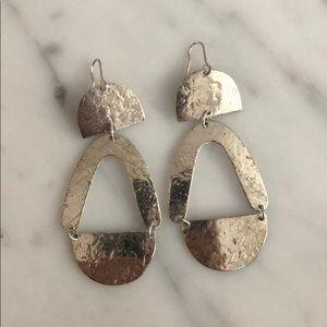 Jewelry - Hammered earrings